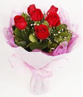 9 adet kaliteli görsel kirmizi gül  Adana çiçek gönderme