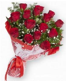 11 kırmızı gülden buket  Adana güvenli kaliteli hızlı çiçek