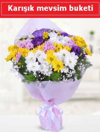 Karışık Kır Çiçeği Buketi  Adana güvenli kaliteli hızlı çiçek