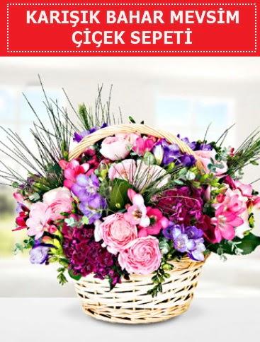 Karışık mevsim bahar çiçekleri  Adana ucuz çiçek gönder
