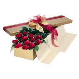 Adana cicekciler , cicek siparisi  10 adet kutu özel kutu