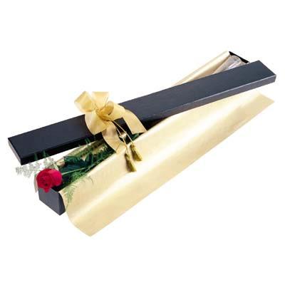 Adana uluslararası çiçek gönderme  tek kutu gül özel kutu