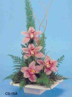 Adana çiçekçi telefonları  vazoda 4 adet orkide