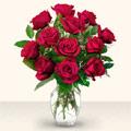 Adana çiçek yolla  10 adet gül cam yada mika vazo da