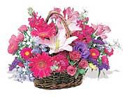 küçük karisik özel sepet   Adana çiçek online çiçek siparişi