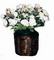 yapay karisik çiçek sepeti   Adana cicek , cicekci