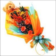 ayicik gül ve kir çiçekleri   Adana çiçekçi mağazası