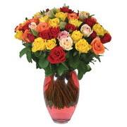 51 adet gül ve kaliteli vazo   Adana çiçek gönderme sitemiz güvenlidir