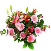 lilyum ve gerbera çiçekleri - çiçek seçimi -  Adana çiçek gönderme