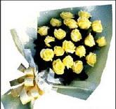 sari güllerden sade buket  Adana çiçek , çiçekçi , çiçekçilik