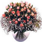 büyük cam fanusta güller   Adana çiçek yolla