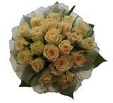 12 adet sari güllerden buket   Adana uluslararası çiçek gönderme