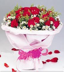 Adana internetten çiçek satışı  12 ADET KIRMIZI GÜL BUKETI