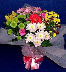 Adana hediye çiçek yolla  küçük karisik mevsim demeti