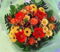 Adana ucuz çiçek gönder  sade hos orta boy karisik demet çiçek