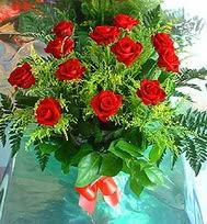 12 adet gül buketi  Adana anneler günü çiçek yolla