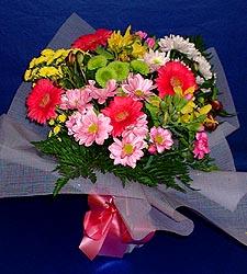 karisik sade mevsim demetligi   Adana 14 şubat sevgililer günü çiçek