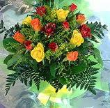 13 adet karisik gül buketi demeti   Adana uluslararası çiçek gönderme