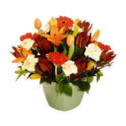 mevsim çiçeklerinden karma aranjman  Adana çiçek yolla , çiçek gönder , çiçekçi