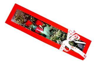 Adana hediye çiçek yolla  Kutuda 3 adet gül