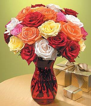Adana anneler günü çiçek yolla  13 adet renkli gül