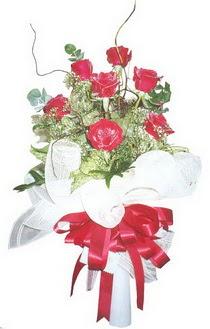 Adana çiçek siparişi sitesi  7 adet kirmizi gül buketi