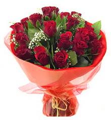 Adana anneler günü çiçek yolla  11 adet kimizi gülün ihtisami buket modeli