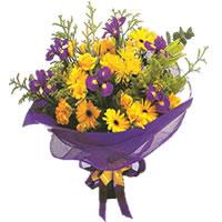 Adana çiçek gönderme sitemiz güvenlidir  Karisik mevsim demeti karisik çiçekler