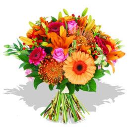 Adana çiçekçi telefonları  Karisik kir çiçeklerinden görsel demet