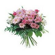 karisik kir çiçek demeti  Adana çiçek satışı