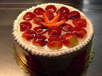 Meyvali yas pasta 4 ile 6 kisilik pasta  Adana çiçek siparişi sitesi