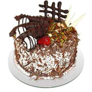 4 ile 6 kisilik çikolatali yas pasta  Adana kaliteli taze ve ucuz çiçekler