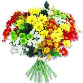 Kir çiçeklerinden buket modeli  Adana online çiçek gönderme sipariş