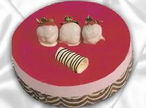 pasta siparisi 4 ile 6 kisilik yas pasta çilekli yaspasta  Adana çiçek servisi , çiçekçi adresleri