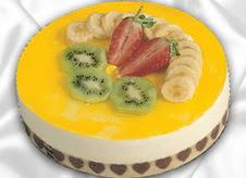 pasta gönderme 4 ile 6 kisilik yas pasta muzlu yaspasta  Adana çiçek mağazası , çiçekçi adresleri