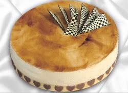 taze pasta 4 ile 6 kisilik yas pasta karamelli yaspasta  Adana çiçekçiler