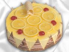 taze pastaci 4 ile 6 kisilik yas pasta limonlu yaspasta  Adana online çiçek gönderme sipariş