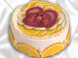 leziz pastane 4 ile 6 kisilik yas pasta meyvali yaspasta  Adana kaliteli taze ve ucuz çiçekler