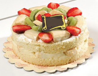 pasta siparisi 4 ile 6 kisilik karisik meyvali yas pasta  Adana çiçek servisi , çiçekçi adresleri