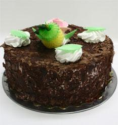4 ile 6 kisilik yas pasta çikolatali leziz pastane ürünü  Adana cicekciler , cicek siparisi