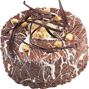 pasta satisi 4 ile 6 kisilik çikolatali yas pasta  Adana İnternetten çiçek siparişi