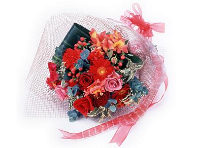 Karisik buket çiçek modeli sevilenlere  Adana uluslararası çiçek gönderme