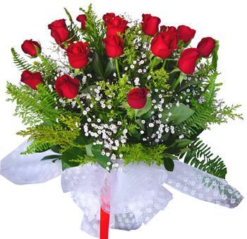 11 adet gösterisli kirmizi gül buketi  Adana internetten çiçek satışı