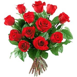 11 adet bakara kirmizi gül buketi  Adana güvenli kaliteli hızlı çiçek