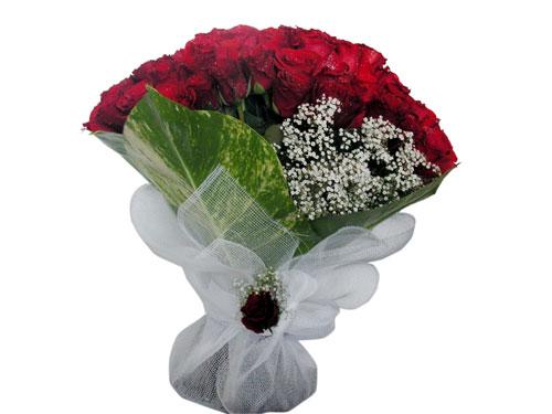 25 adet kirmizi gül görsel çiçek modeli  Adana çiçek servisi , çiçekçi adresleri