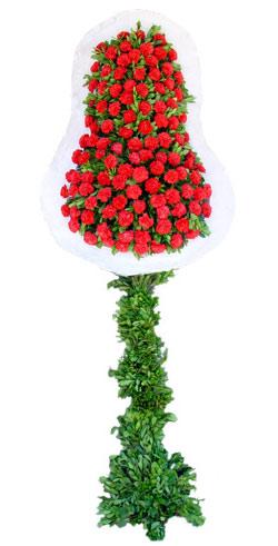 Dügün nikah açilis çiçekleri sepet modeli  Adana İnternetten çiçek siparişi