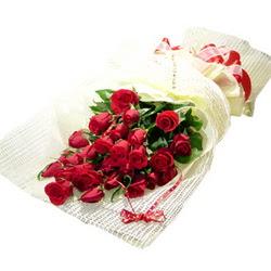 Çiçek gönderme 13 adet kirmizi gül buketi  Adana çiçek satışı