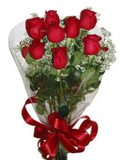 Çiçek sade gül buketi 7 güllü buket  Adana online çiçek gönderme sipariş