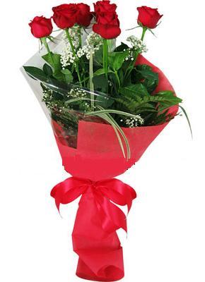 7 adet kirmizi gül buketi  Adana çiçek yolla , çiçek gönder , çiçekçi