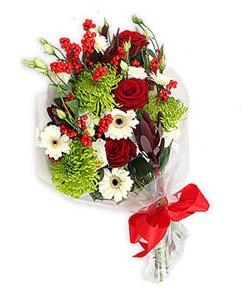 Karisik mevsim buketi çiçek tanzimi  Adana internetten çiçek siparişi